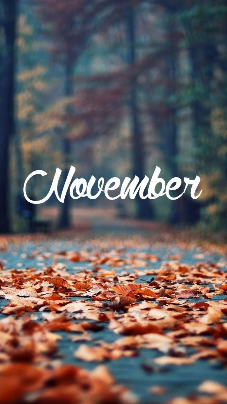 November November Wallpaper Iphone Wallpaper Vintage Cute Fall Wallpaper