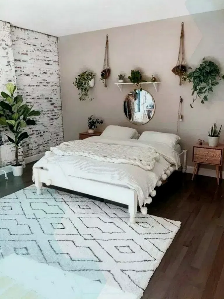 38 Cozy Bohemian Bedroom Ideas For Your First Apartment 00001