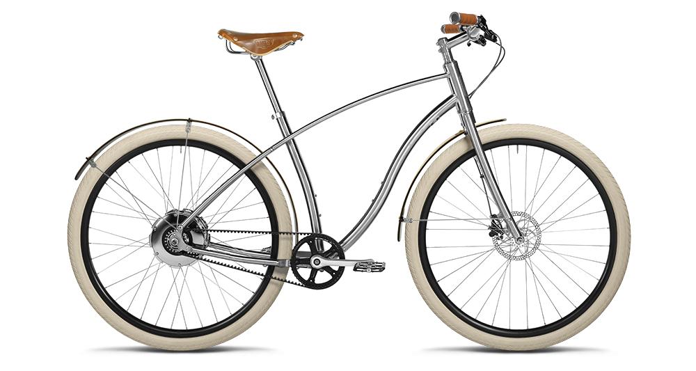 Budnitz Bicycles Store Build Your Belt Drive Titanium E Bike