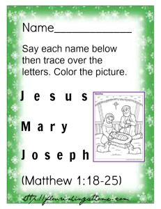 Printable Christmas Pre-School Worksheets for teaching the ...