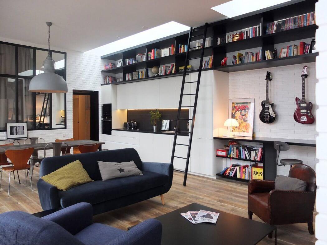 Progettazione Dinterni Fai Da Te : Rock the loft by nido living room interni e immobiliare