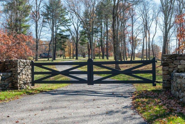 Pin On Custom Ranch Farm Gates, Farm Style Driveway Gates