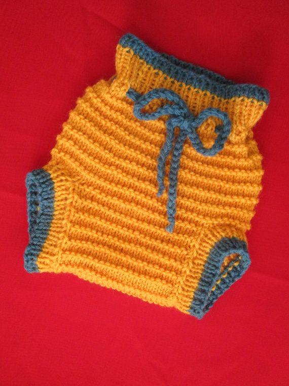 S Handknit Wool Diaper Cover Soaker Shorties Small by Ritaknitsall ...
