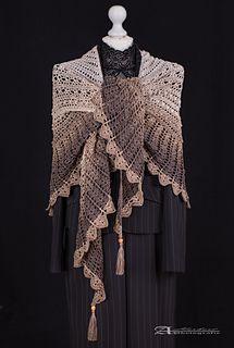 Dandelion Lane Pattern By Grassharp Yarn Ponchos Shawls Wraps
