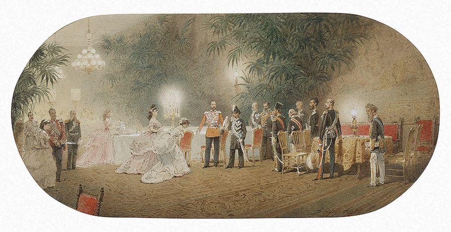 Grand Duchess Maria Alexandrovna to Shah Nasir al-Din 1874