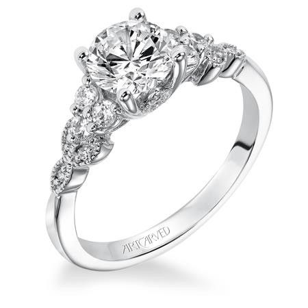 Adeline Artcarved Diamond Engagement Rings Style V309 Call Us Today For Your Best