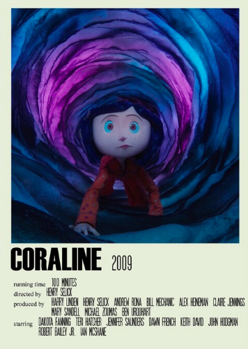 Coraline Alternative Poster Art Movie Large (1) Photographic Print by DesignsByElle
