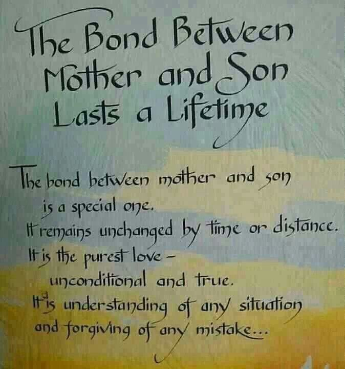 A Mother Love For Her Son Quotes