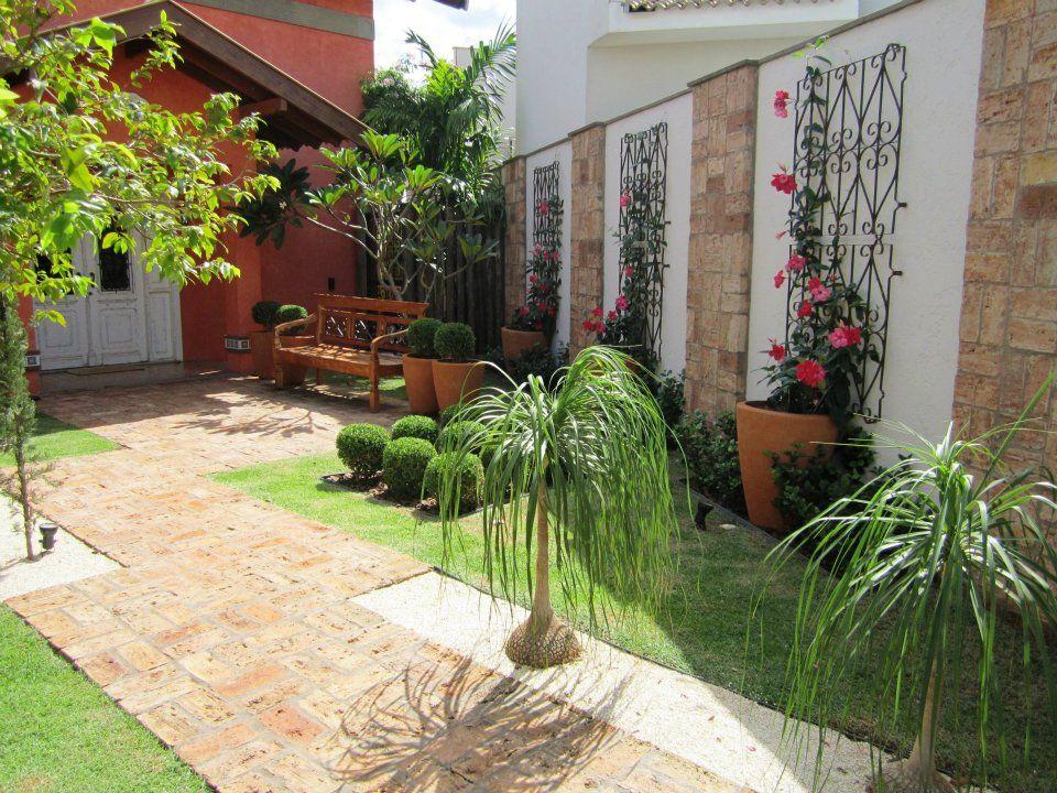 Quero uma grade no meu jardim flores e jardins for Modelos jardines pequenos