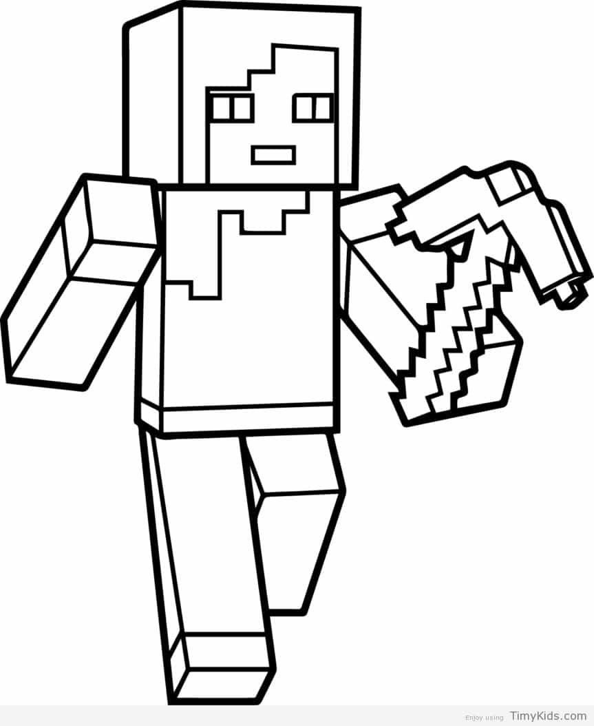 Stampy Cat Coloring Page Youngandtae Com In 2020 Minecraft Coloring Pages Minecraft Printables Coloring Pages For Kids