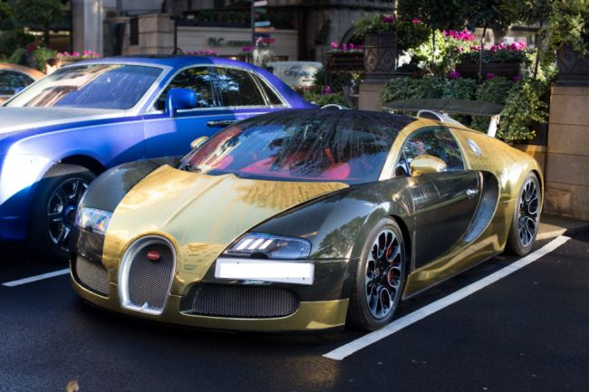 The most #EXPENSIVE car in the world was spotted at a #London hotel
