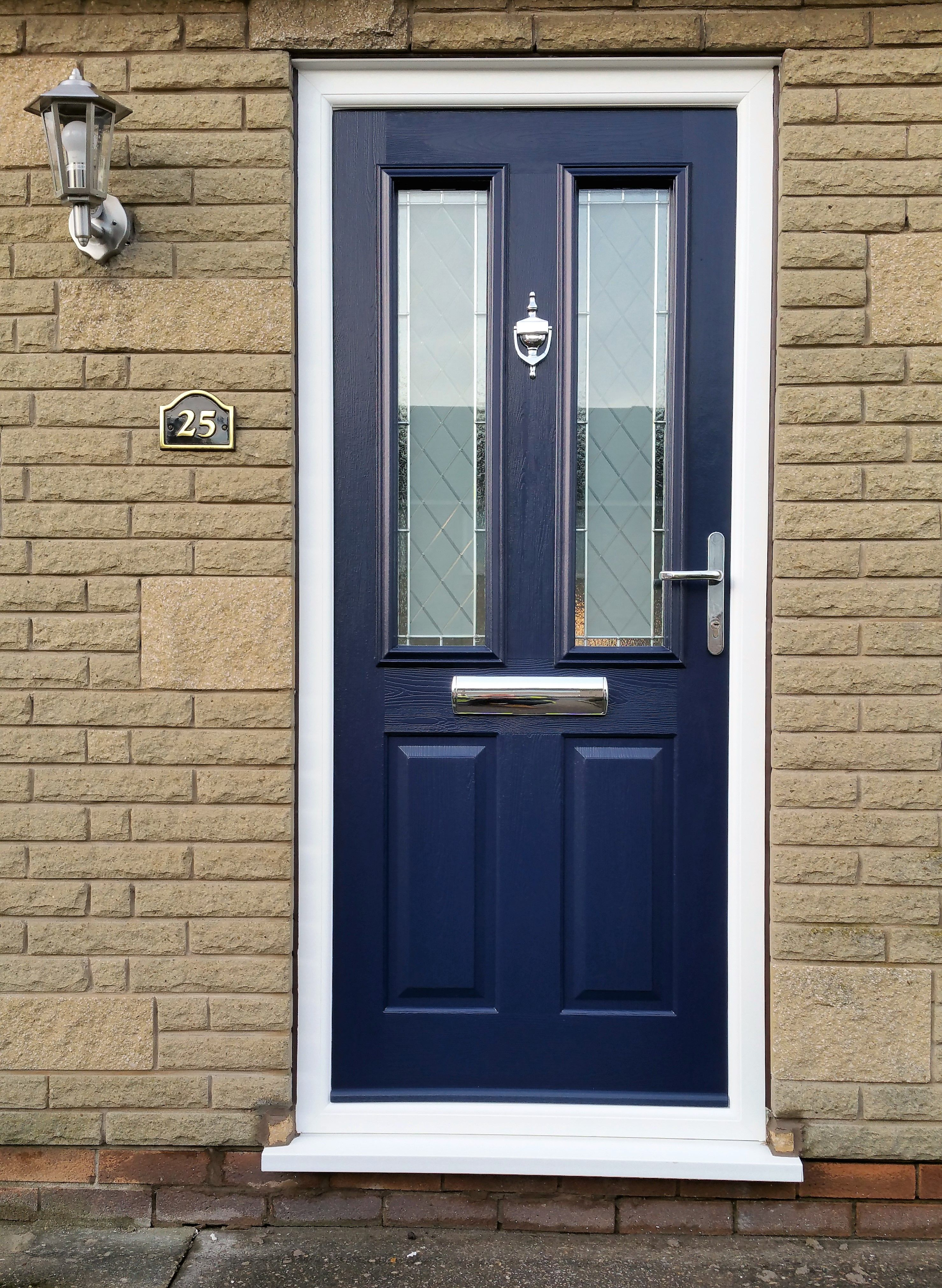 This beautiful Solidor Ludlow in blue was recently installed by First Glass Windows and doors in & This beautiful Solidor Ludlow in blue was recently installed by ... pezcame.com
