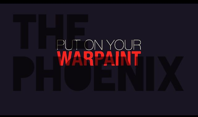 Put on your war paint- THE PHOENIX- Fall Out Boy-Save Rock and Roll-I edited this so no repins unless you give me credit! Plz :)