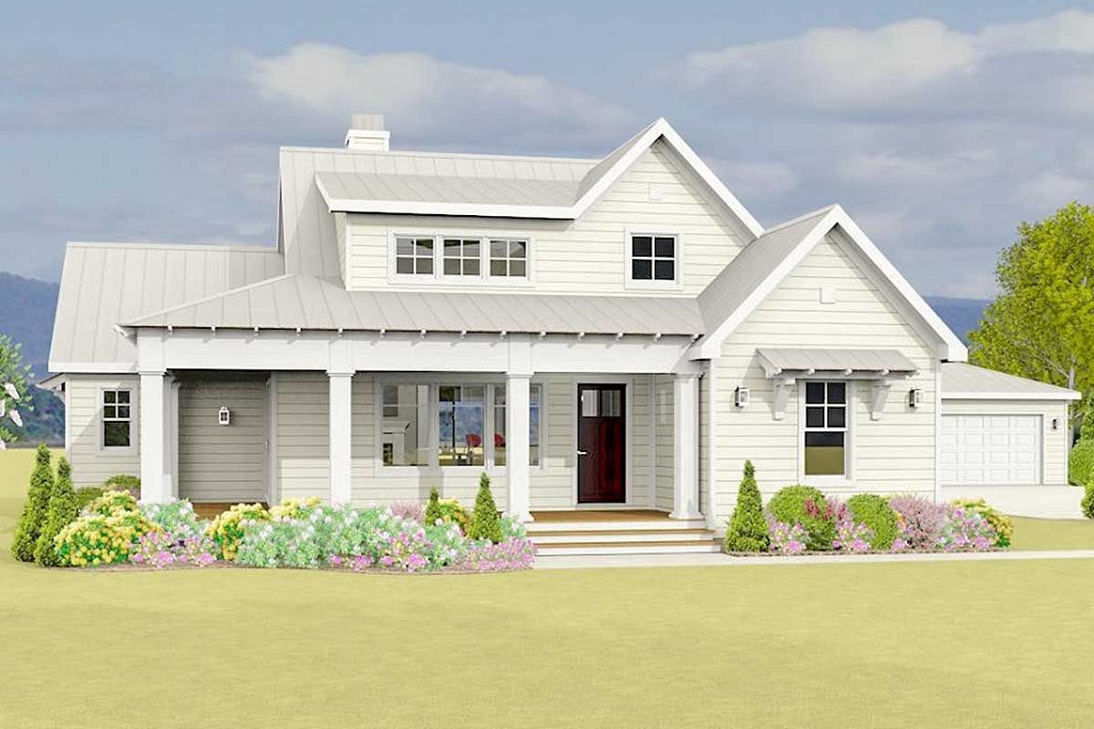 42++ Farmhouse with garage model