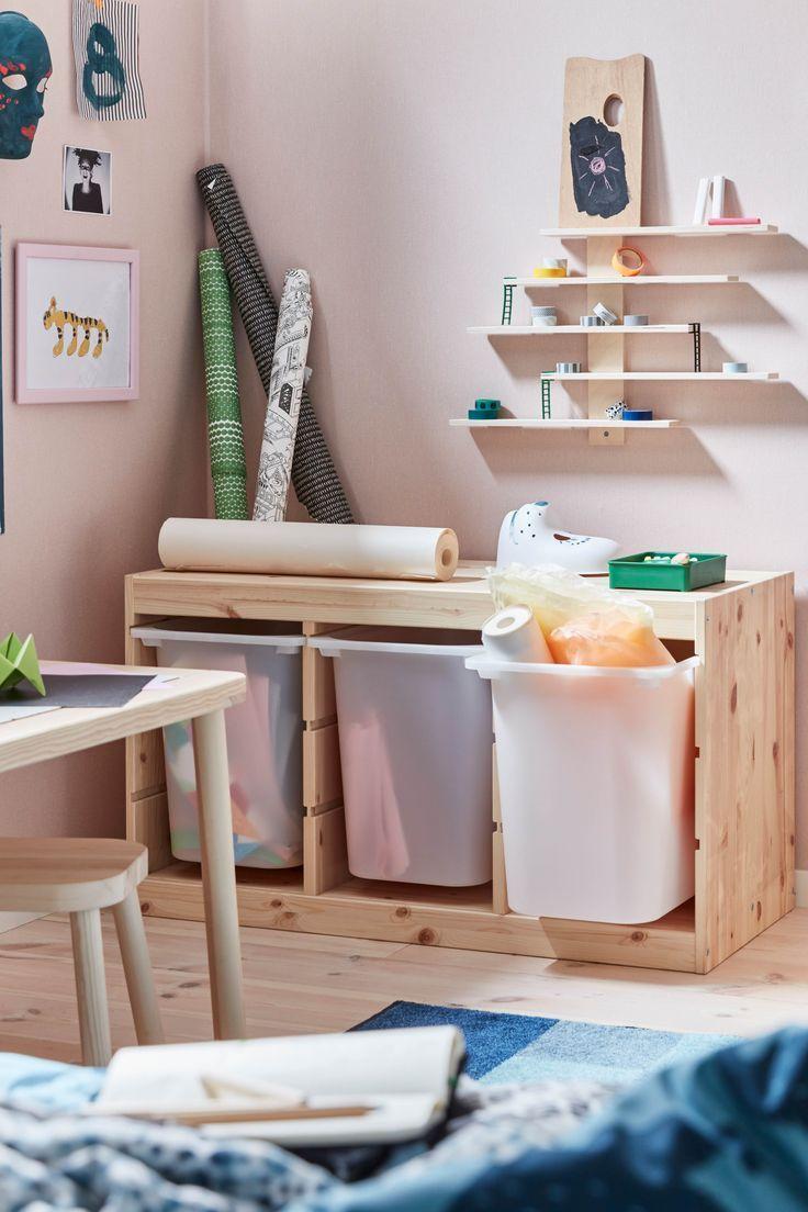TROFAST Lagerung Speicherplatz Ideen in 2020