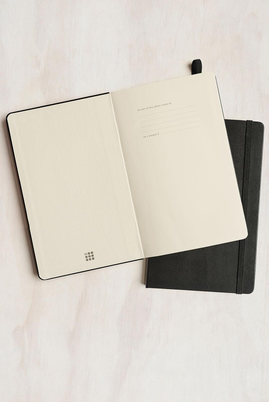 NEW Moleskine Classic Hard Cover Dotted Notebook Medium Black