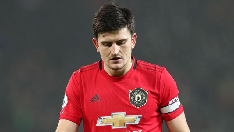 Man U Captain Harry Maguire Doubtful For Manchester Derby