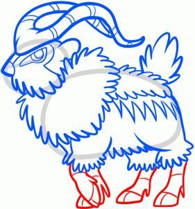How To Draw Gogoat Gogoat Step 7 With Images Drawings Drawing Lessons Learn To Draw