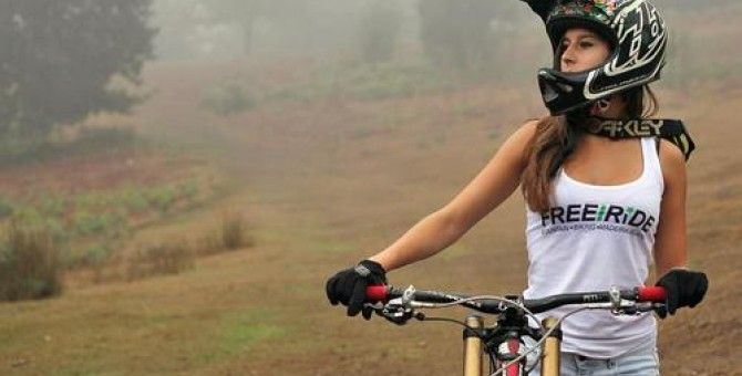 Downhill is not just for boys