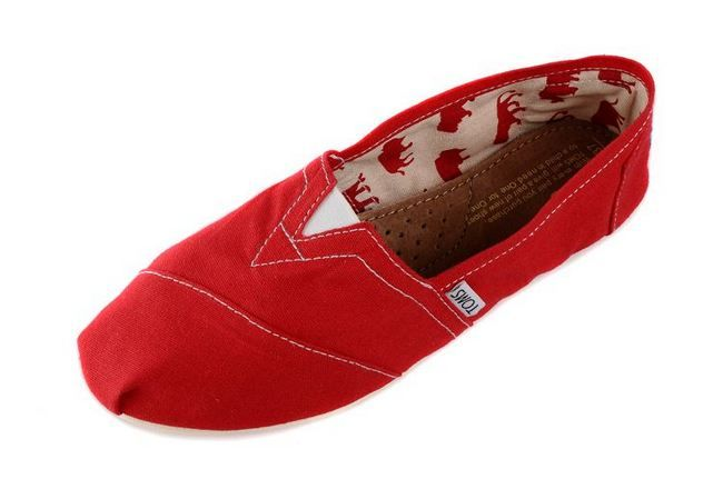 Discounted Toms Shoes -   New Style Toms women's shoes new red   This link works score!