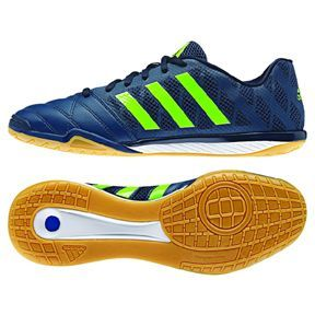 adidas FreeFootball Top Sala Indoor Soccer Shoes (Navy/Green)