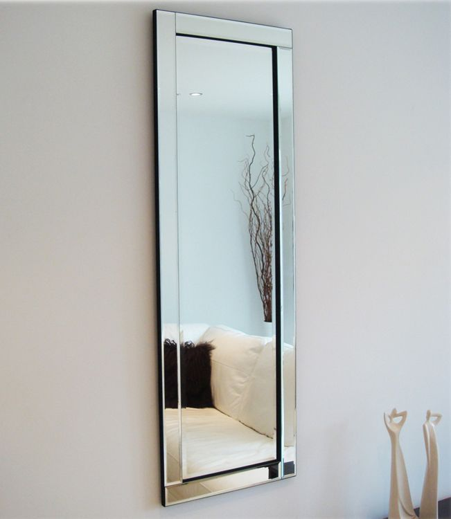 Gl Framed Mirror Full Length 120 X 40 Cm Exclusive Mirrors