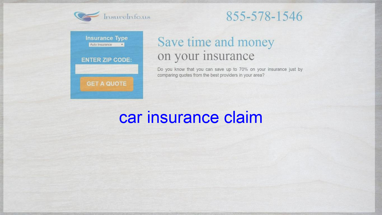Car Insurance Claim Auto