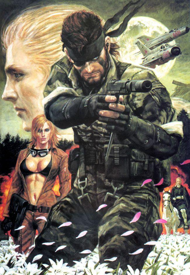 Metal Gear Solid 3 by Noriyoshi Ohrai