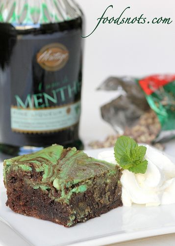 Creme de Menthe Brownies | Flickr - Photo Sharing!