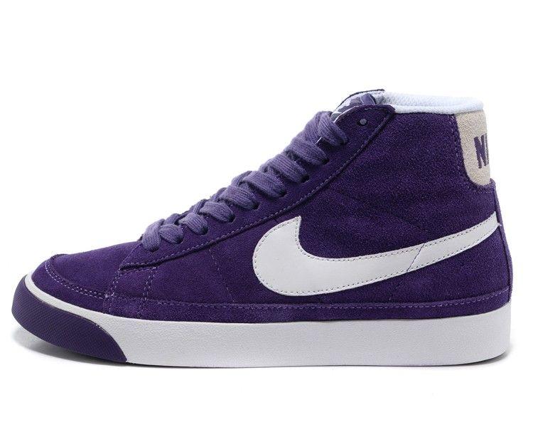 Nike WMNS Blazer Mid PRM 403729-608 Purple! Only $61.70USD