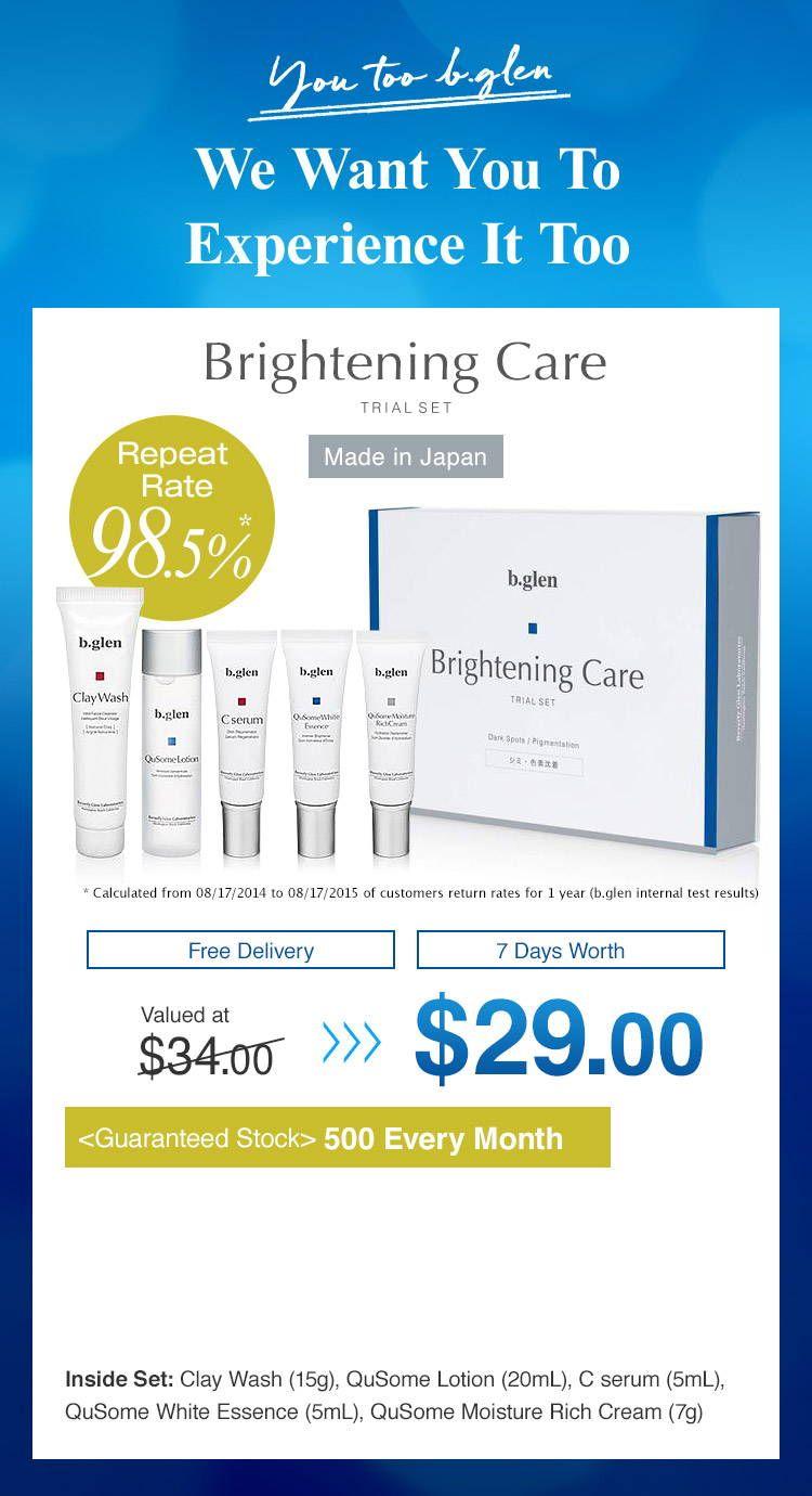 White Trial B Glen Singapore Trials Skin Problems Active Ingredient