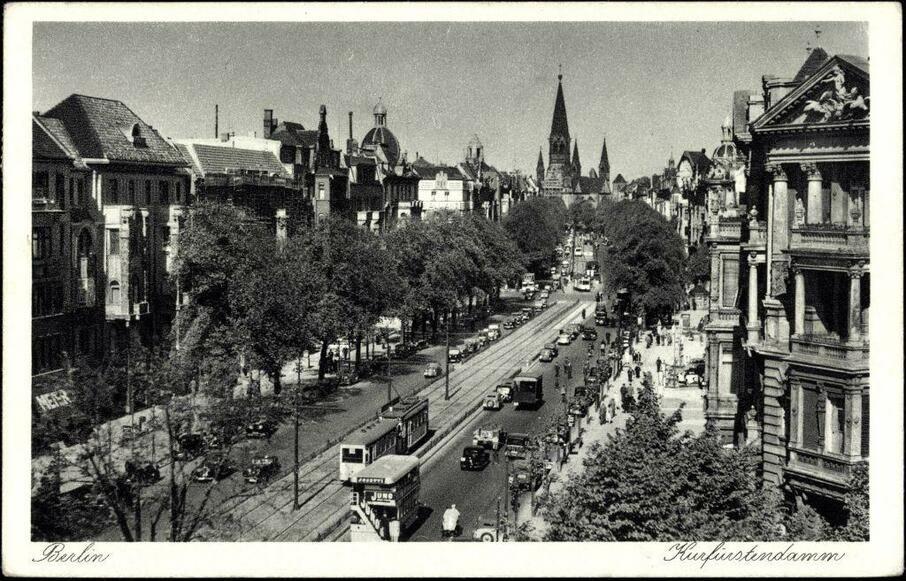 efb20b616a74e3 (1) Bildergalerie  Nächster Halt  Ku damm! Berlins Straßenbahn in Bildern