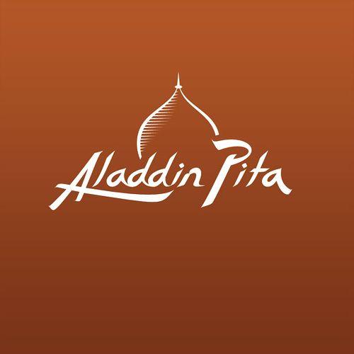 Aladdin Pita Logo Aladdin Logos Custom Logo Design