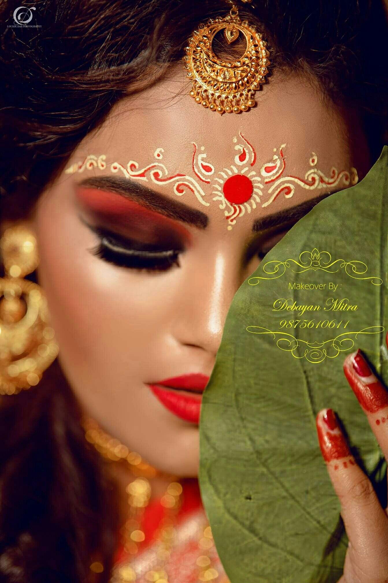 Pin by Sukhpreet Kaur 🌹💗💞💖💟🌹 on Bride Bengali bridal