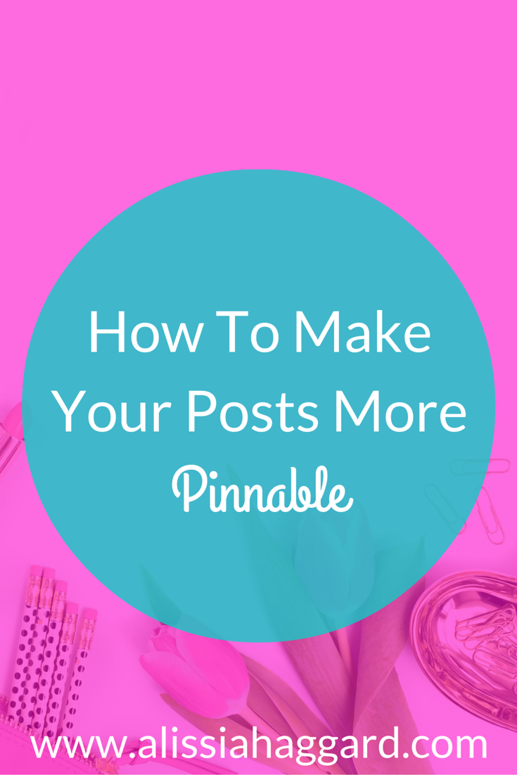 How to create pinnable posts for Pinterest. Why Pinterest drives traffic to your blog and steps you can take today to up your Pinterest game. Read more: http://wp.me/p6M4qR-ne