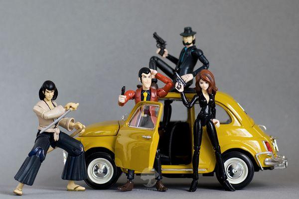 Banpresto-Lupin III Collection Fujiko PVC Statue