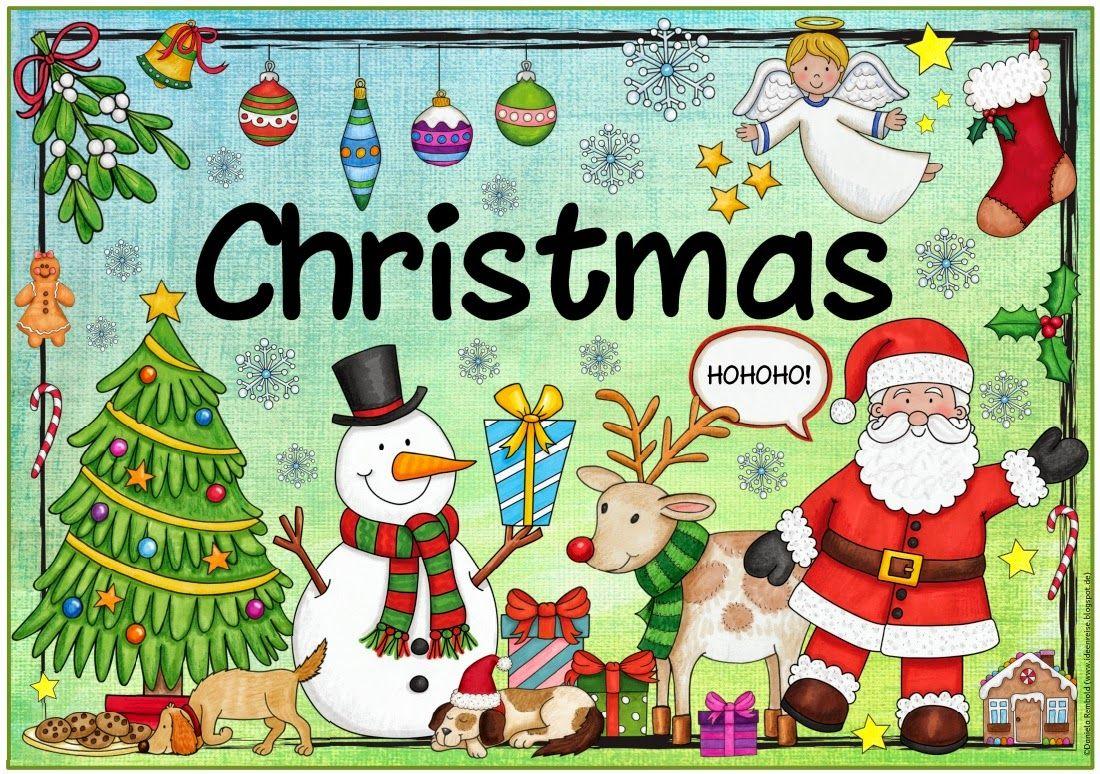 Ideenreise plakat christmas special days almanca for Raumgestaltung englisch