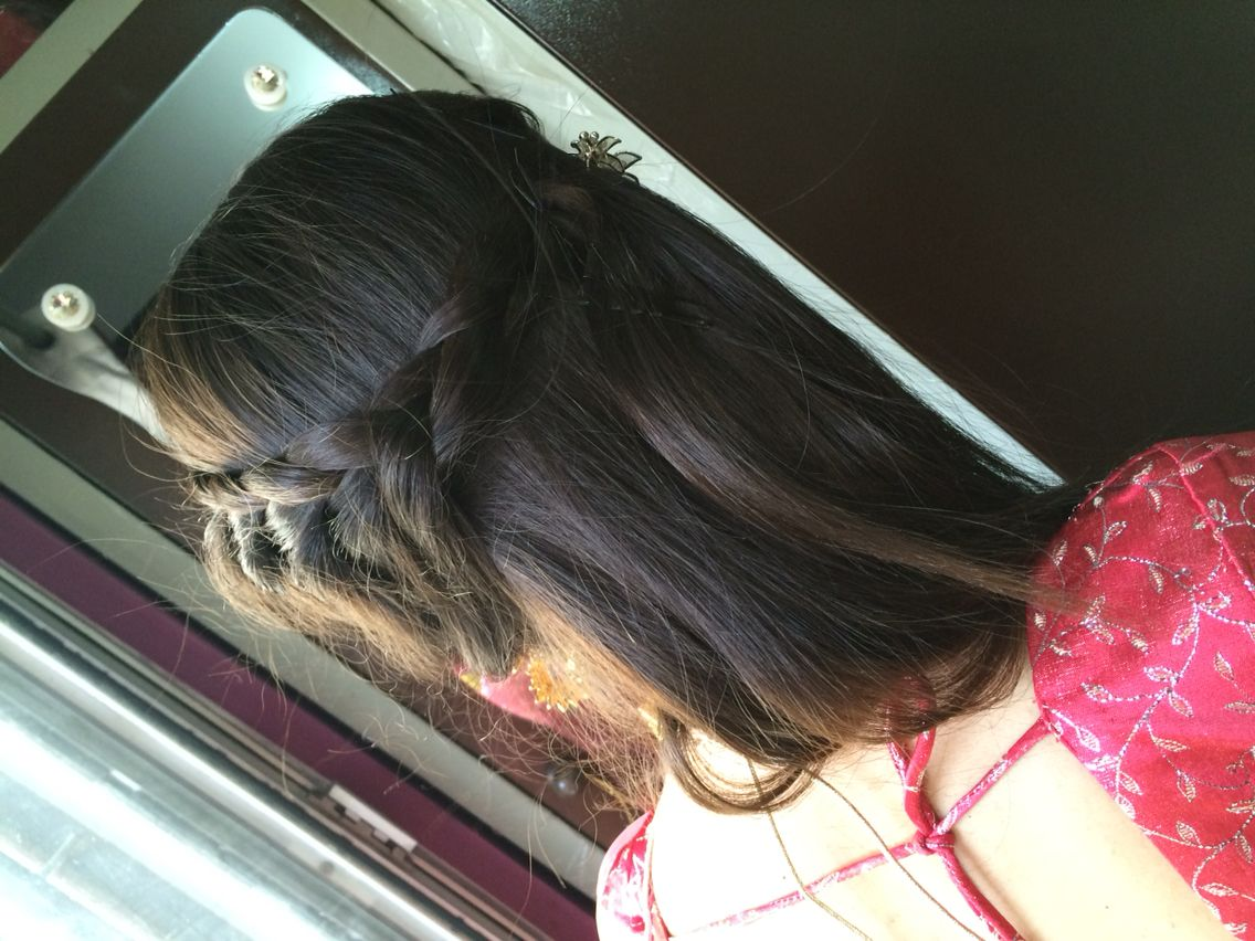 Quick n easy updo..
