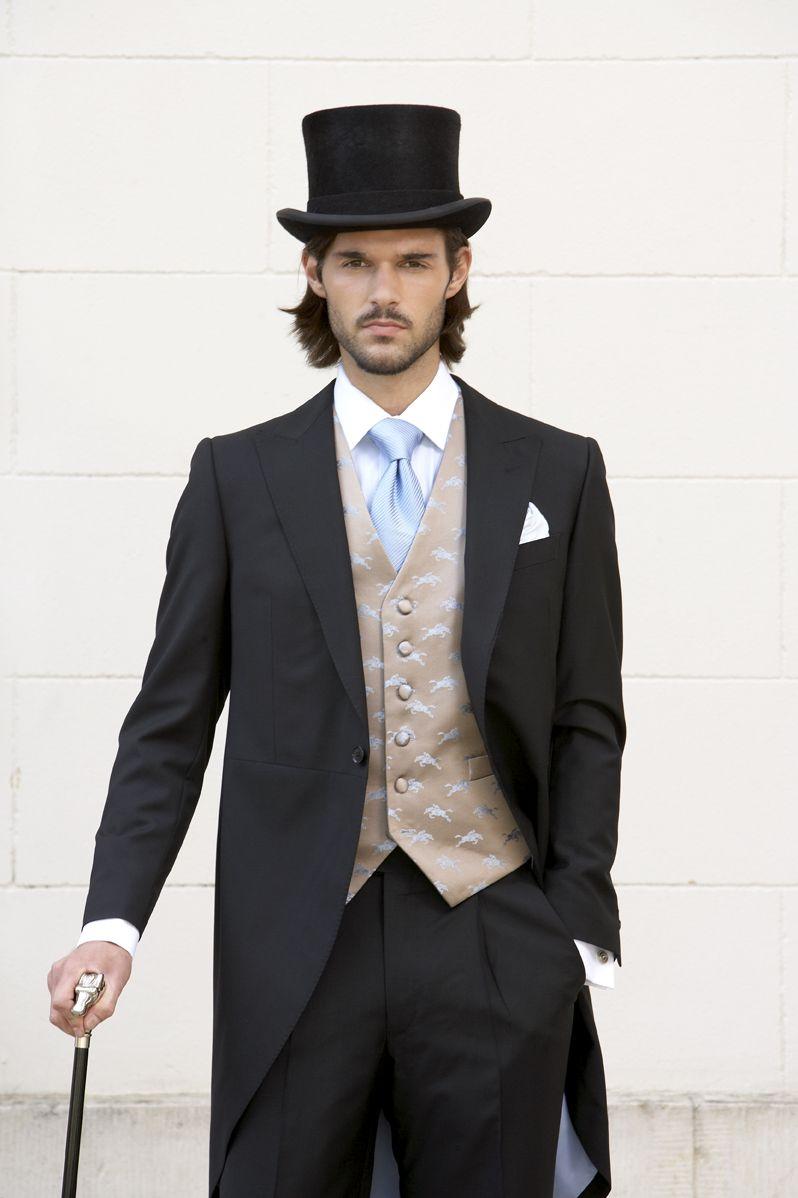 Neal & Palmer London / Horses waistcoat Black top hat Black ...