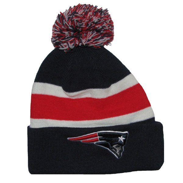 7c5a588c90c56 Patriots 47 Brand Breakaway Knit Hat-Navy
