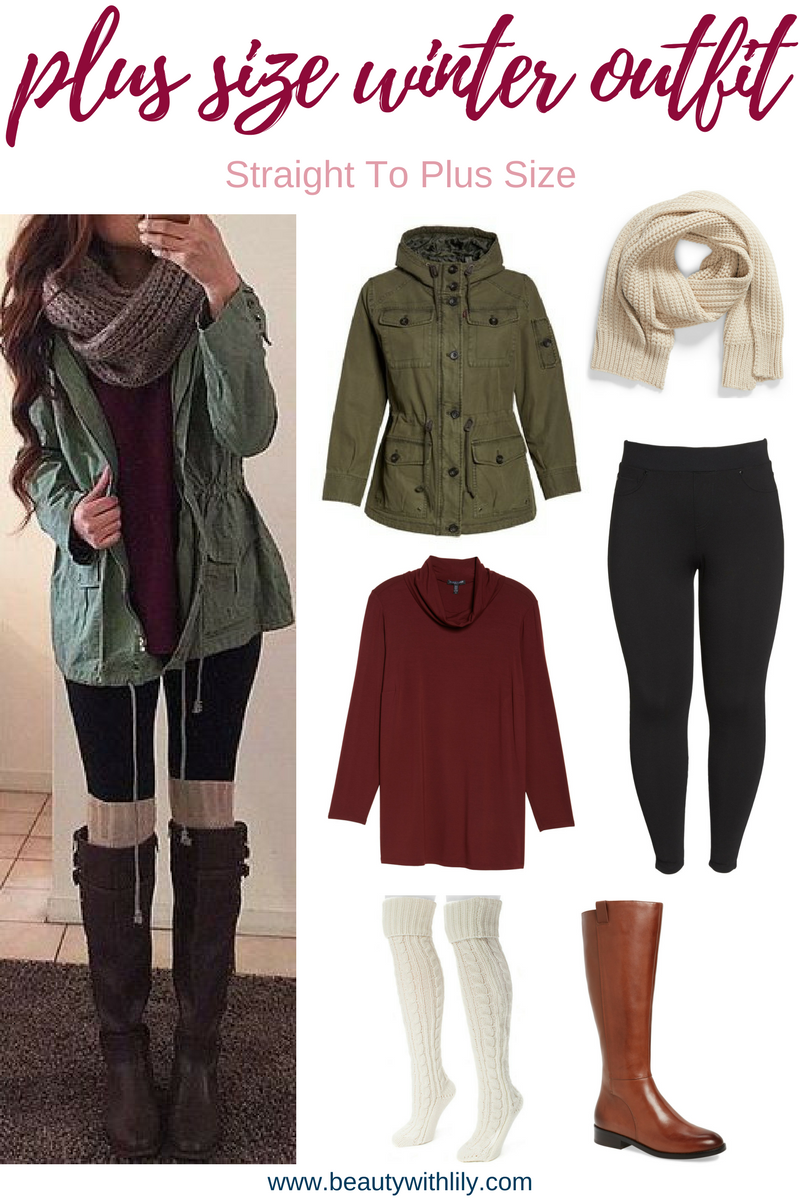 Photo of Straight To Plus Size Winter Outfits – Beauty With Lily