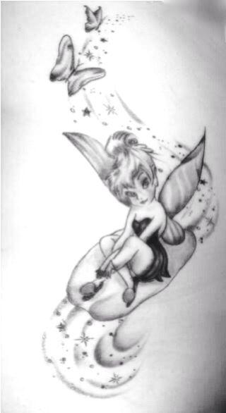 Tinkerbell Tattoo Google Search Tinkerbell