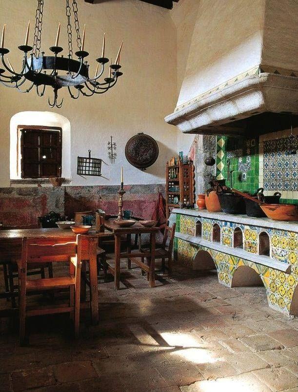 Cocina colonial mexicana sassy chic austin tx cocinas for Cocinas rusticas mexicanas