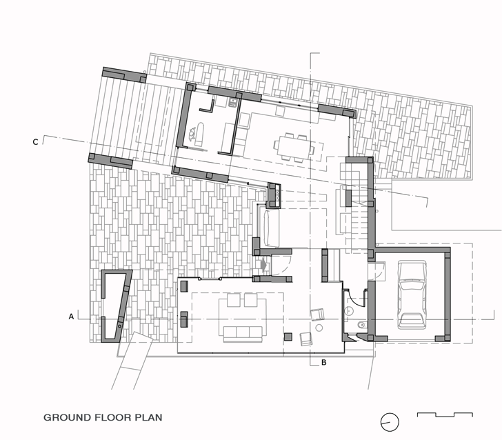 World of architecture modern villa di gioia by pedone for Plan petite villa moderne
