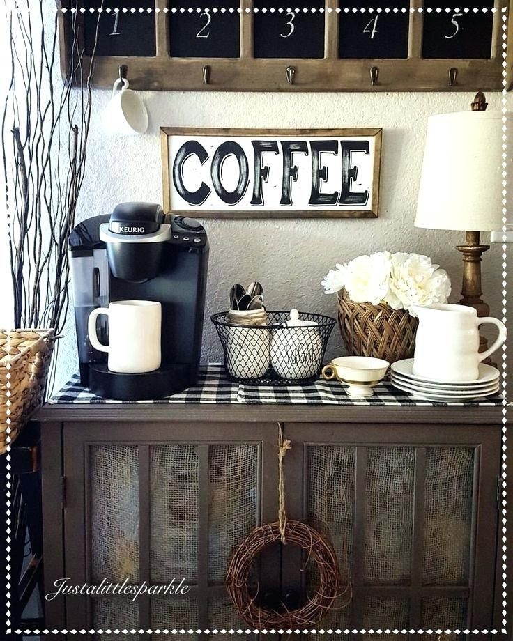30+ Beste DIY Home Coffee Bar Ideen für alle Kaffeeliebhaber - #alle #Bar #beste #Coffee #DIY #Für #Home #Ideen #Kaffeeliebhaber #landhausstil #coffeebarideas