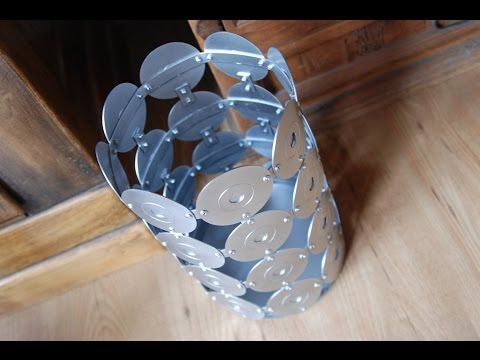 I Was Shocked When I Saw What He Made Out Of His Used CD's (Watch!) - DIY Joy