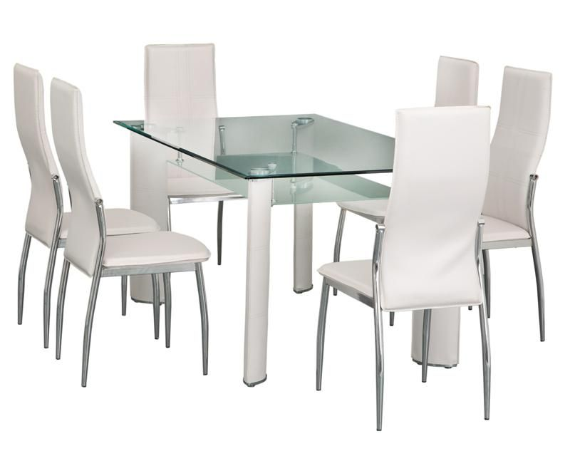 Comedor montreal con 6 sillas coppel home pinterest for Comedor 6 sillas coppel