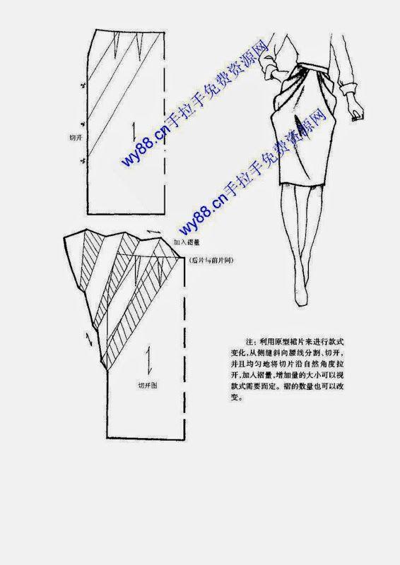 Chinese method of pattern making - skirts - SSvetLanaV - Álbumes web ...