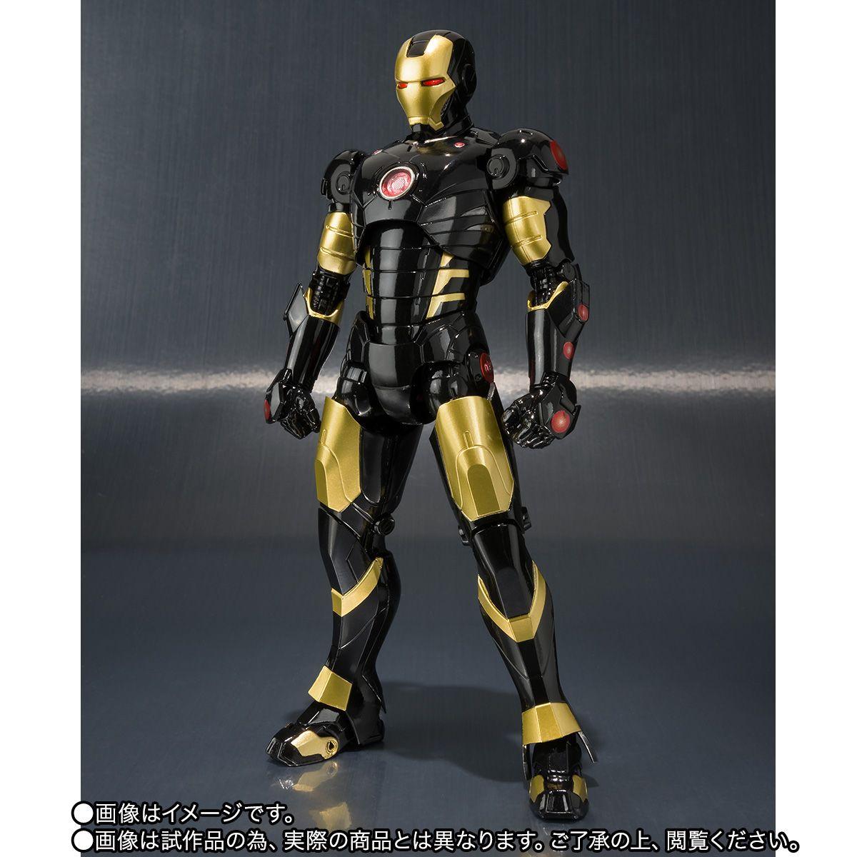 - SH Figuarts Iron Man Mark 3 Marvel Now Colors Iron Man, Marvel