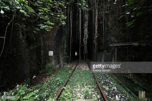 05-24 ITALY, PINZANO - OCTOBER 07: Tunnel near stop Pinzano... #aviano: 05-24 ITALY, PINZANO - OCTOBER 07: Tunnel near stop… #aviano